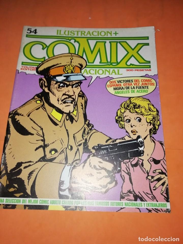 Cómics: COMIX INTERNACIONAL. LOTE DE NUMEROS SUELTOS. DOS RETAPADOS Y ULTIMO NUMERO. - Foto 20 - 169558564