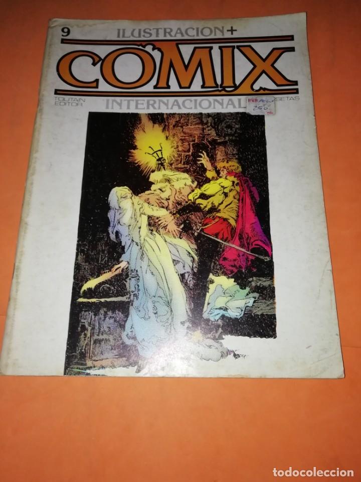 Cómics: COMIX INTERNACIONAL. LOTE DE NUMEROS SUELTOS. DOS RETAPADOS Y ULTIMO NUMERO. - Foto 21 - 169558564