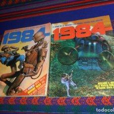 Cómics: 1984 Nº VEINTIUNO 21 RICHARD CORBEN Y EXTRA Nº 5 CON 3 EJEMPLARES SIN NUMERAR. TOUTAIN 1980 95 PTS. . Lote 183456058