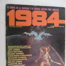 Cómics: 1984 EL COMIC DE LA FANTASIA Y LA CIENCIA FICCION PARA ADULTOS Nº 36 - ENERO 82 . Lote 183512506
