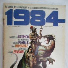 Fumetti: 1984 EL COMIC DE LA FANTASIA Y LA CIENCIA FICCION PARA ADULTOS Nº25 DONDE LO UTOPICO ES ACEPTADO . Lote 183513192