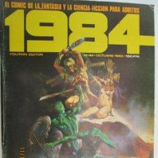 Cómics: 1984 EL COMIC DE LA FANTASIA Y LA CIENCIA FICCION PARA ADULTOS Nº 45. Lote 183513705