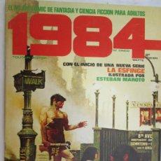 Cómics: 1984 EL COMIC DE LA FANTASIA Y LA CIENCIA FICCION PARA ADULTOS Nº 5 - LA ESFINGE . Lote 183513901