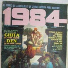 Cómics: 1984 EL COMIC DE LA FANTASIA Y LA CIENCIA FICCION PARA ADULTOS Nº 34 GHITA - DEN . Lote 183514621