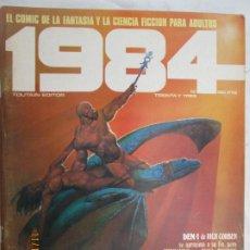 Cómics: 1984 EL COMIC DE LA FANTASIA Y LA CIENCIA FICCION PARA ADULTOS Nº 33 . Lote 183514965