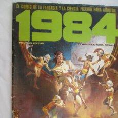 Cómics: 1984 EL COMIC DE LA FANTASIA Y LA CIENCIA FICCION PARA ADULTOS Nº 42. Lote 183515272