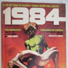 Cómics: 1984 EL COMIC DE LA FANTASIA Y LA CIENCIA FICCION PARA ADULTOS Nº 15 - LOS VERGUGOS . Lote 183515438