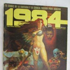 Cómics: 1984 EL COMIC DE LA FANTASIA Y LA CIENCIA FICCION PARA ADULTOS Nº 31 . Lote 183515791
