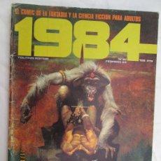 Cómics: 1984 EL COMIC DE LA FANTASIA Y LA CIENCIA FICCION PARA ADULTOS Nº 37 FEBRERO 1982. Lote 183516050