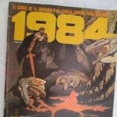 Cómics: 1984 EL COMIC DE LA FANTASIA Y LA CIENCIA FICCION PARA ADULTOS Nº 47 DICIEMBRE 1982 . Lote 183516633