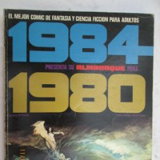 Cómics: 1984 EL COMIC DE LA FANTASIA Y LA CIENCIA FICCION PARA ADULTOS ALMANAQUE 1980 . Lote 183521803