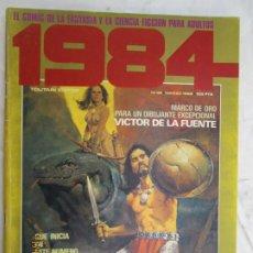 Cómics: 1984 EL COMIC DE LA FANTASIA Y LA CIENCIA FICCION PARA ADULTOS Nº 38 HAGGARTH MARZO 1982. Lote 183522231