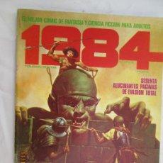 Cómics: 1984 EL COMIC DE LA FANTASIA Y LA CIENCIA FICCION PARA ADULTOS Nº 11 , SESENTA ALUCINANTES PAGINAS . Lote 183522332