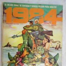 Cómics: 1984 EL COMIC DE LA FANTASIA Y LA CIENCIA FICCION PARA ADULTOS Nº 17 . Lote 183522455