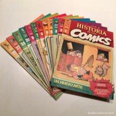 Cómics: LOTE 12 FASCÍCULOS DE LA HISTORIA DE LOS COMICS, TOUTAIN EDITOR, NÚMS. DEL 1 AL7, 9, 20, 24, 27 Y 28. Lote 183525493