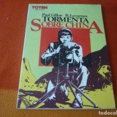 Comics: TORMENTA SOBRE CHINA ( PAUL GILLON R LECUREUX ) TOTEM BIBLIOTECA. Lote 183542730