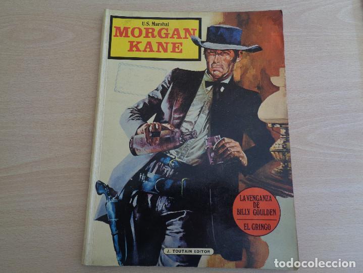COMIC U.S. MARSHAL MORGAN KANE DE TOUTAIN EDITOR LA VENGANZA DE BILLY GOULDEN (Tebeos y Comics - Toutain - Otros)