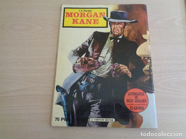Cómics: Comic U.S. Marshal Morgan Kane de Toutain Editor La Venganza de Billy Goulden - Foto 2 - 183592052