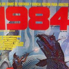 Cómics: - POSTER - 1984 , EL MEJOR COMIC DE FANTASIA - Y VAMPIRELLA 1984 -. Lote 183663515