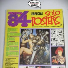 Comics : ZONA 84, ESPECIAL SOLO POSTERS Nº 3, ED. TOUTAIN (A). Lote 183727082