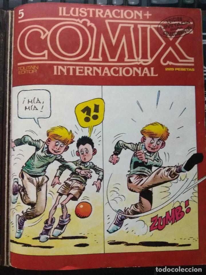 COMIX INTERNACIONAL Nº 5 (Tebeos y Comics - Toutain - Comix Internacional)