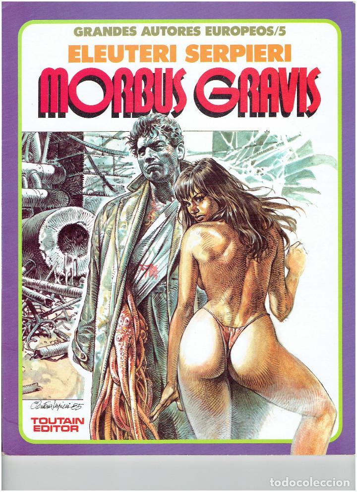 * GRANDES AUTORES EUROPEOS Nº 5 * TOUTAIN EDITOR 1987 * EXCELENTE * (Tebeos y Comics - Toutain - Álbumes)