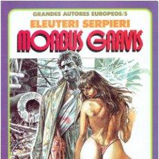 Cómics: * GRANDES AUTORES EUROPEOS Nº 5 * TOUTAIN EDITOR 1987 * EXCELENTE *. Lote 184302697