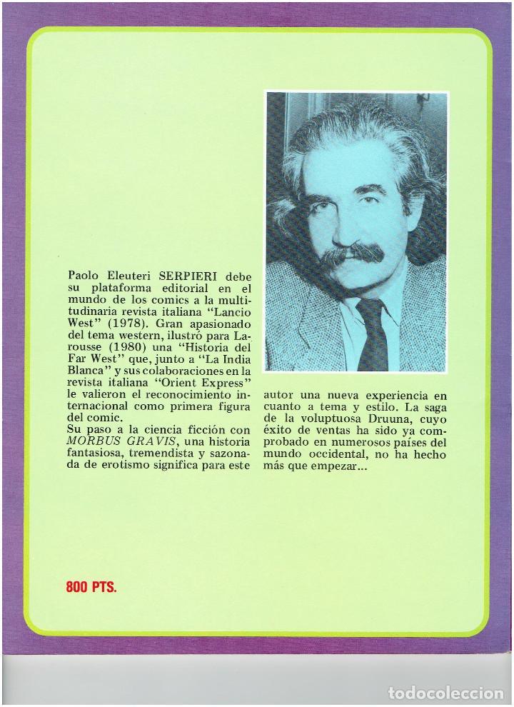 Cómics: * GRANDES AUTORES EUROPEOS Nº 5 * TOUTAIN EDITOR 1987 * EXCELENTE * - Foto 2 - 184302697