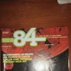 Comics : ZONA 84 Nº 1. Lote 184359803