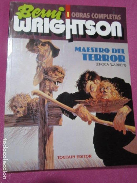 OBRAS COMPLETAS 1 BERNI WRIGHTSON MAESTRO DEL TERROR TOUTAIN (Tebeos y Comics - Toutain - Álbumes)