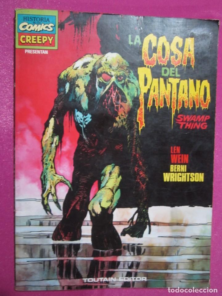 CREEPY PRESENTA LA COSA DEL PANTANO BERNI WRIGHTSON TOUTAIN (Tebeos y Comics - Toutain - Álbumes)
