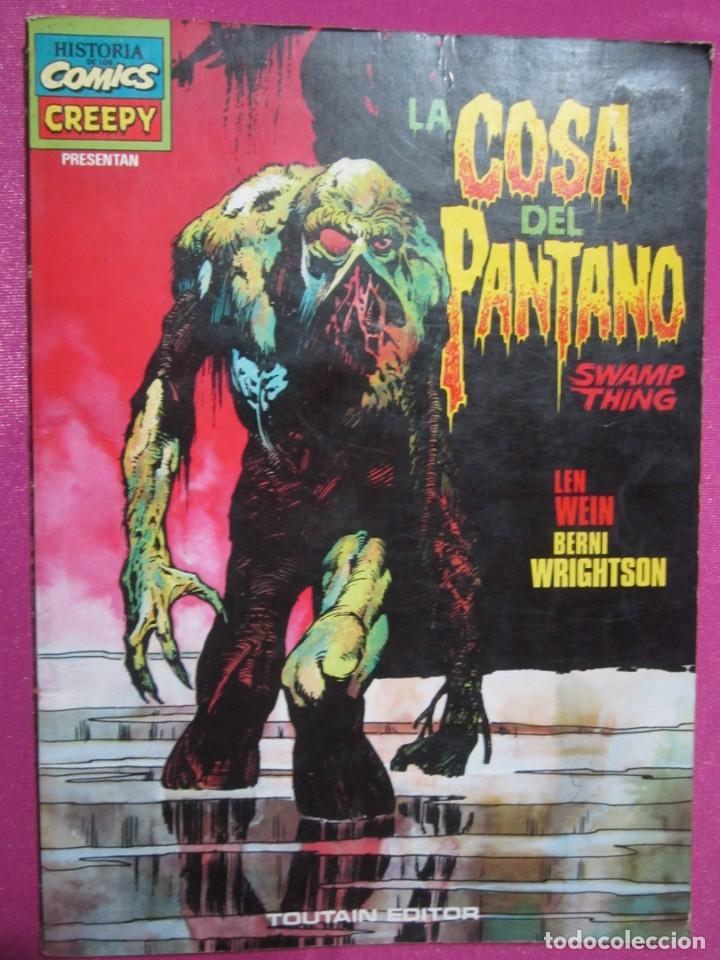 Cómics: CREEPY PRESENTA LA COSA DEL PANTANO BERNI WRIGHTSON TOUTAIN - Foto 3 - 184486946