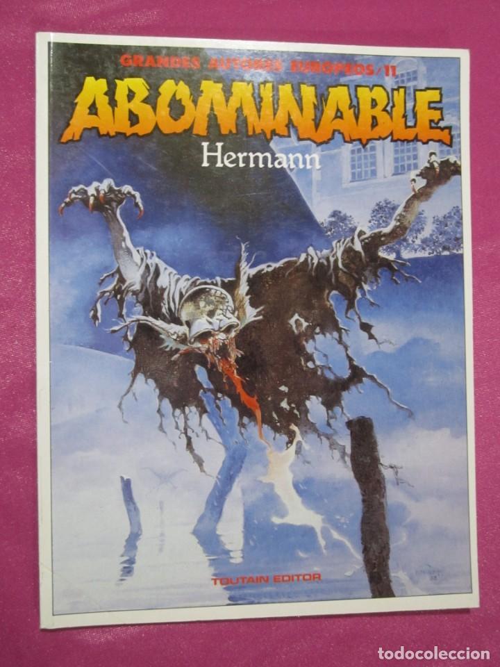 ABOMINABLE HERMANN GRANDES AUTORES TOUTAIN (Tebeos y Comics - Toutain - Álbumes)