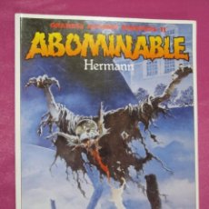 Cómics: ABOMINABLE HERMANN GRANDES AUTORES TOUTAIN. Lote 184487577
