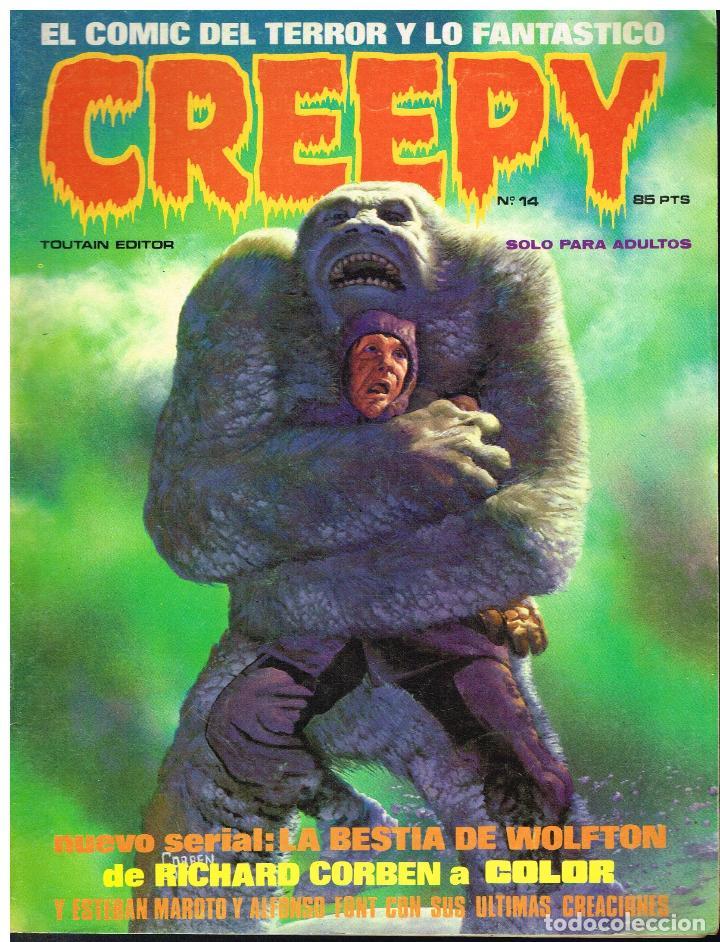 CREEPY Nº 14 - TOUTAIN EDITOR - 1979 (Tebeos y Comics - Toutain - Creepy)