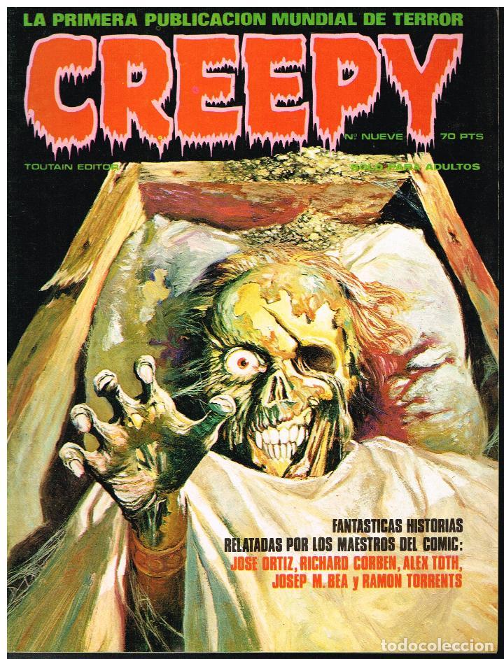 CREEPY Nº 9 - TOUTAIN EDITOR - 1979 (Tebeos y Comics - Toutain - Creepy)