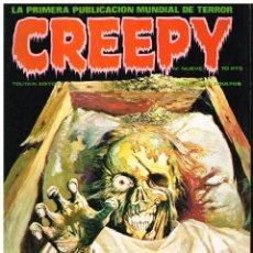 Cómics: CREEPY Nº 9 - TOUTAIN EDITOR - 1979. Lote 184509947
