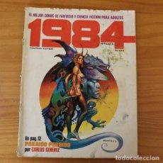 Cómics: 1984 9, CARLOS GIMENEZ, LUIS BERMEJO, RICHARD CORBEN, LEO DURANONA, PABLO MARCOS...TOUTAIN EDITOR. Lote 184715697