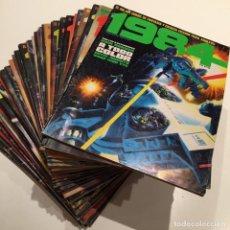 Cómics: LOTE DE 33 REVISTAS DE CÓMIC DE FANTASÍA Y CIENCIA FICCIÓN 1984 DE TOUTAIN. VER FOTOS Y DESCRIPCIÓN. Lote 184842551