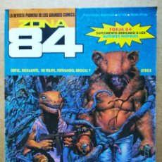 Cómics: REVISTA ZONA 84 N°86 (TOUTAIN). 'LA REVISTA PIONERA DE LOS GRANDES CÓMICS'. INCLUYE FORJA 84. Lote 185985742