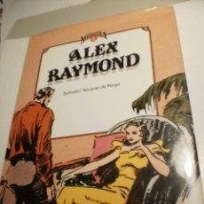 Cómics: CUANDO EL CÓMIC ES NOSTALGIA 2 ALEX RAYMOND. SALVADOR VÁZQUEZ DE PARGA 1983 TAPA DURA (BUEN ESTADO). Lote 186083747
