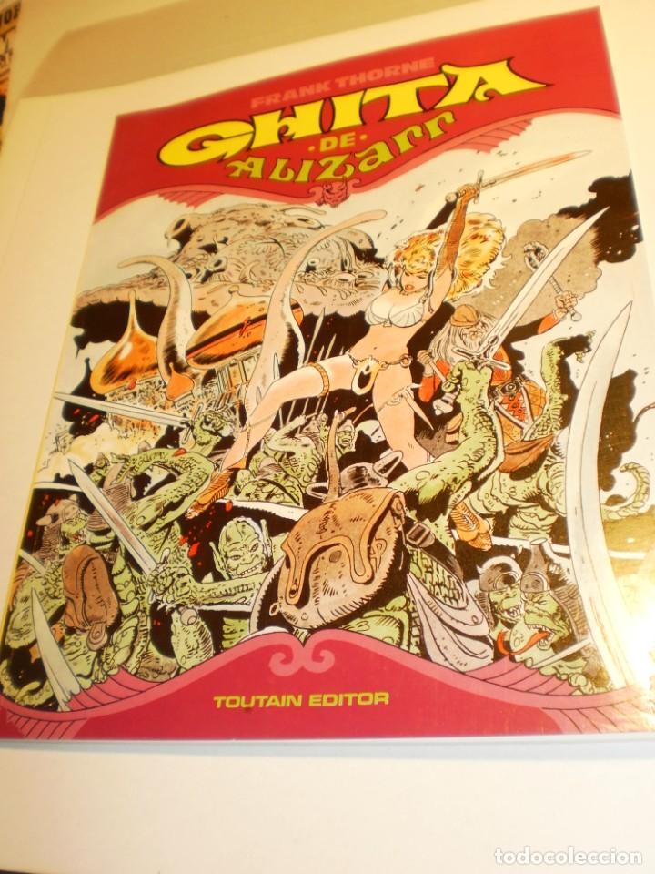 GHITA DE ALIZARR. FRANK THORNE. Nº 2 1991 RÚSTICA COLOR 48 PÁG (BUEN ESTADO, SEMINUEVO) (Tebeos y Comics - Toutain - Otros)