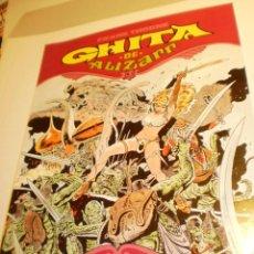 Cómics: GHITA DE ALIZARR. FRANK THORNE. Nº 2 1991 RÚSTICA COLOR 48 PÁG (BUEN ESTADO, SEMINUEVO). Lote 186084632