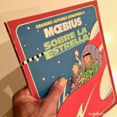 Cómics: COMICBOOK SOBRE LA ESTRELLA POR MOEBIUS, GRANDES AUTORES EUROPEOS - TOUTAIN EDITOR 1986. Lote 186173340