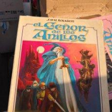 Cómics: EL SEÑOR DE LOS ANILLOS. J.R.R. TOLKIEN. IPARTE. TOUTAIN, 1980. DIBUJOS: LUIS BERMEJO. Lote 186205365