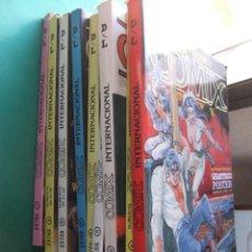 Cómics: COMIX INTERNACIONAL LOTE DE NUEVE TOMOS AÑOS 80 TOUTAIN EDITOR. Lote 186303456