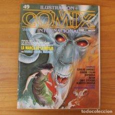 Fumetti: ILUSTRACION + COMIX INTERNACIONAL 49 ALBERTO BRECCIA, EUGENE COLAN, DANIEL REDONDO... TOUTAIN. Lote 186677558