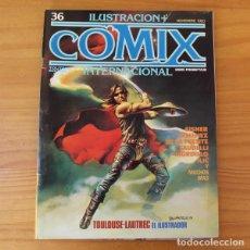 Fumetti: ILUSTRACION + COMIX INTERNACIONAL 36 EISNER, GIMENEZ, DE LA FUENTE, MORDILLO, ILIC... TOUTAIN. Lote 186680228
