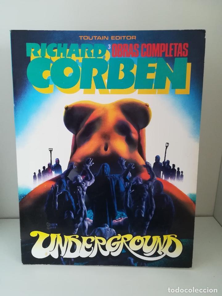 UNDERGROUND (RICHARD CORBEN) OBRAS COMPLETAS Nº 3 (Tebeos y Comics - Toutain - Obras Completas)