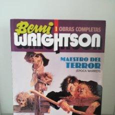 Cómics: BERNI WRIGHTSON 1 OBRAS COMPLETAS MAESTRO DEL TERROR ( EPOCA WARREN ). Lote 187317426